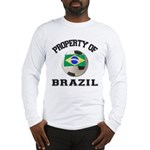 Brazil Soccer Long Sleeve T-Shirt