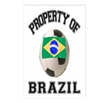 Brazil Soccer Postcards (Package of 8)