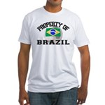 Brazil Soccer Fitted T-Shirt