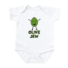 Olive Jew! Infant Bodysuit