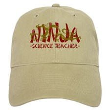Dragon Ninja Science Teacher Baseball Cap