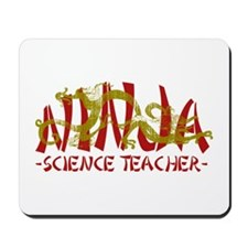 Dragon Ninja Science Teacher Mousepad
