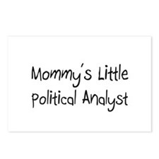 Mommy's Little Political Analyst Postcards (Packag