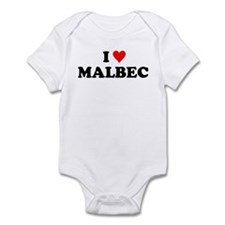 I Love Malbec Infant Bodysuit