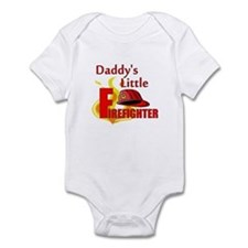 Little Firefighter Infant Bodysuit