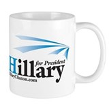Hillary Stripes Design Mug