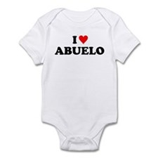 I Love Abuelo Infant Bodysuit
