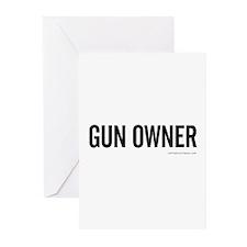 GUN OWNER Greeting Cards (Pk of 10)