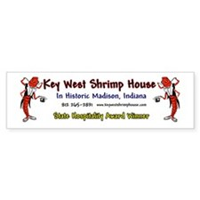Key West Shrimp House Bumper Bumper Sticker