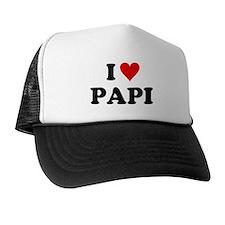 I Love Papi Trucker Hat