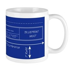 Blueprint Small Mugs