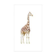 giraffe 2 Rectangle Sticker 10 pk)