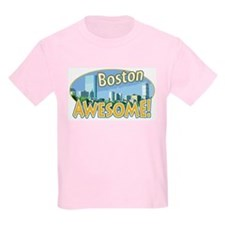 Awesome Boston Kids T-Shirt
