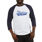 Boston My Town Blue Baseball Jersey
