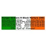 The Roll of Honour Bumper Sticker