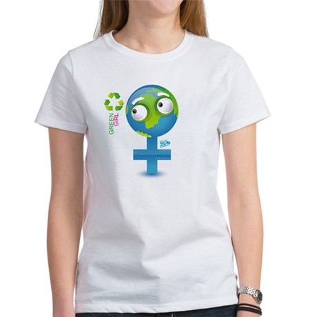Green Girl Women's T-Shirt
