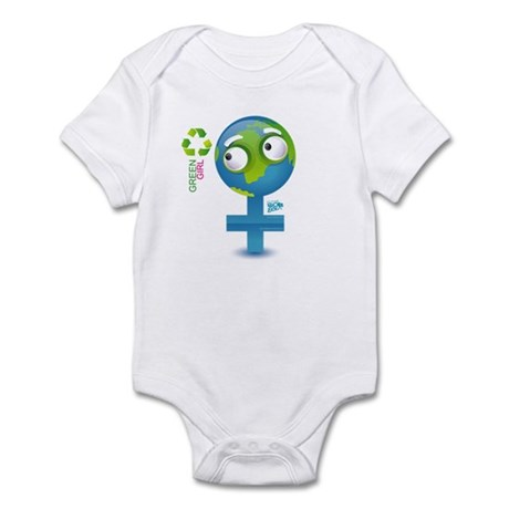 Green Girl Infant Bodysuit