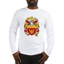 Harrison Family Crest Long Sleeve T-Shirt