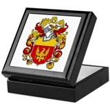 Harrison Family Crest Keepsake Box
