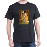 Kiss / Cocker (brn) Dark T-Shirt