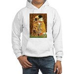 Kiss / Cocker (brn) Hooded Sweatshirt