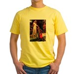 Accolade / Cocker (brn) Yellow T-Shirt