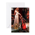 Accolade / Cocker (brn) Greeting Cards (Pk of 10)
