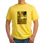 Dancers / Cocker (brn) Yellow T-Shirt