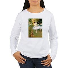 Dancers / Cocker (brn) Women's Long Sleeve T-Shirt