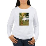 Dancers / Cocker (brn) Women's Long Sleeve T-Shirt
