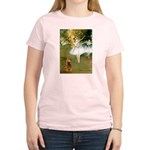 Dancers / Cocker (brn) Women's Light T-Shirt