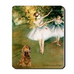 Dancers / Cocker (brn) Mousepad
