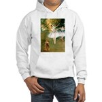 Dancers / Cocker (brn) Hooded Sweatshirt