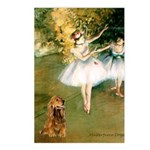 Dancers / Cocker (brn) Postcards (Package of 8)