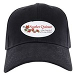 Scarlet Quince Logo Black Cap