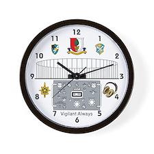 Cute Field station augsburg Wall Clock