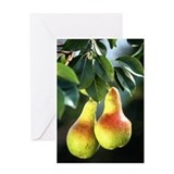 Ripe Pears Greeting Card