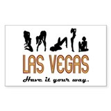 Las Vegas Sticker (T-SHIRTS & more avail.)