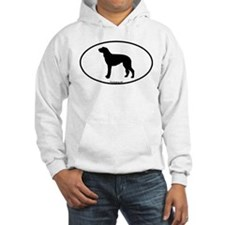 Scottish Deerhound Oval Hoodie