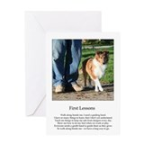 First Lessons Large Note Card