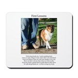 First Lessons Mousepad