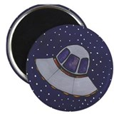"Spaceship 2 2.25"" Magnet (10 pack)"