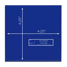 Blueprint Tile Coaster