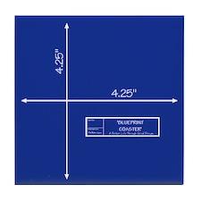 Blueprint Tile Coaster