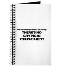There's No Crying in Crochet Journal