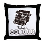 Future Writer Aspring Author Throw Pillow