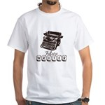 Future Writer Aspring Author White T-Shirt