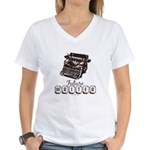 Future Writer Aspring Author Women's V-Neck T-Shir