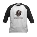 Future Writer Aspring Author Kids Baseball Jersey