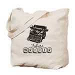 Future Writer Aspring Author Tote Bag